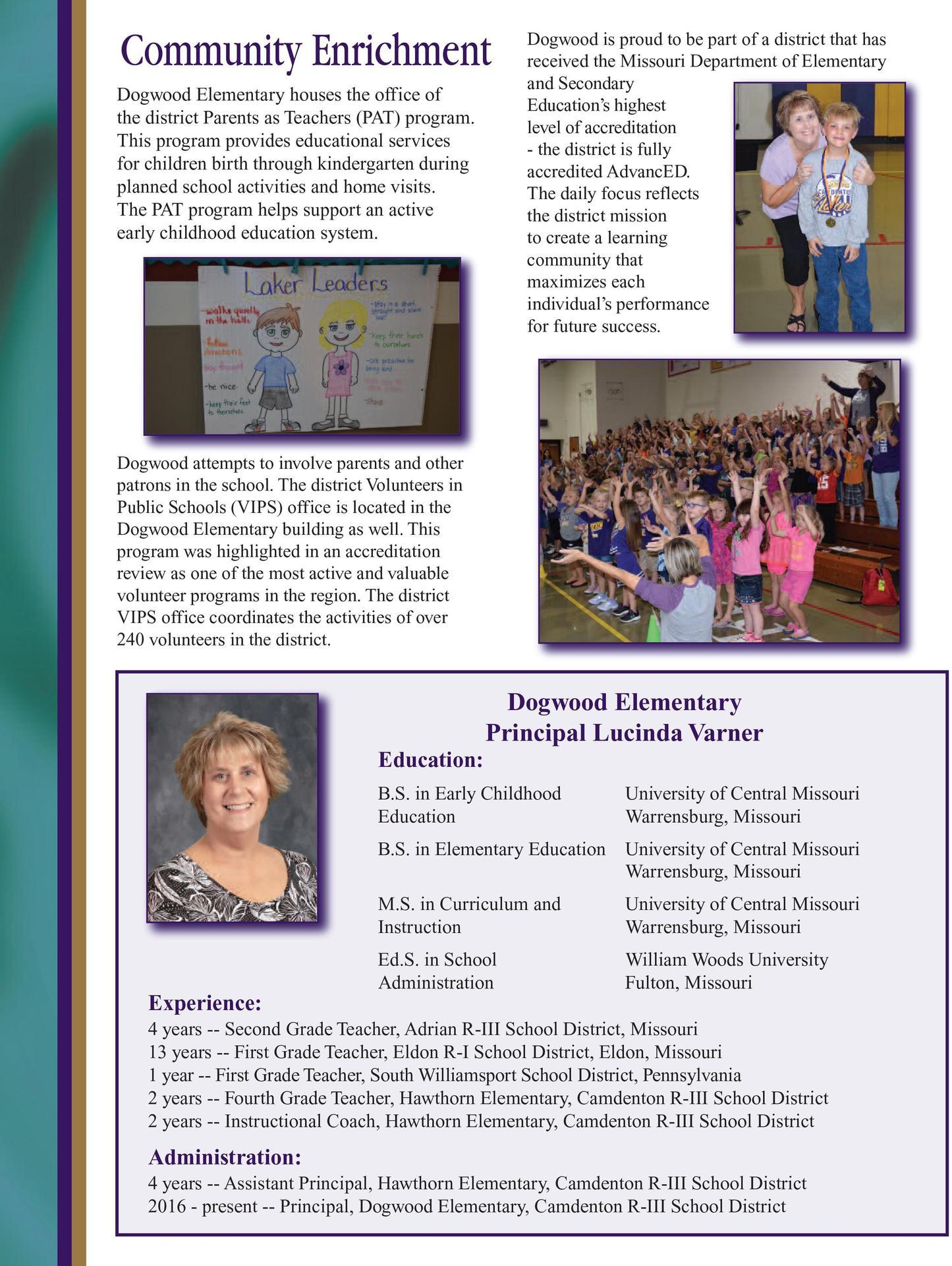 Dogwood Elementary Profile page 3