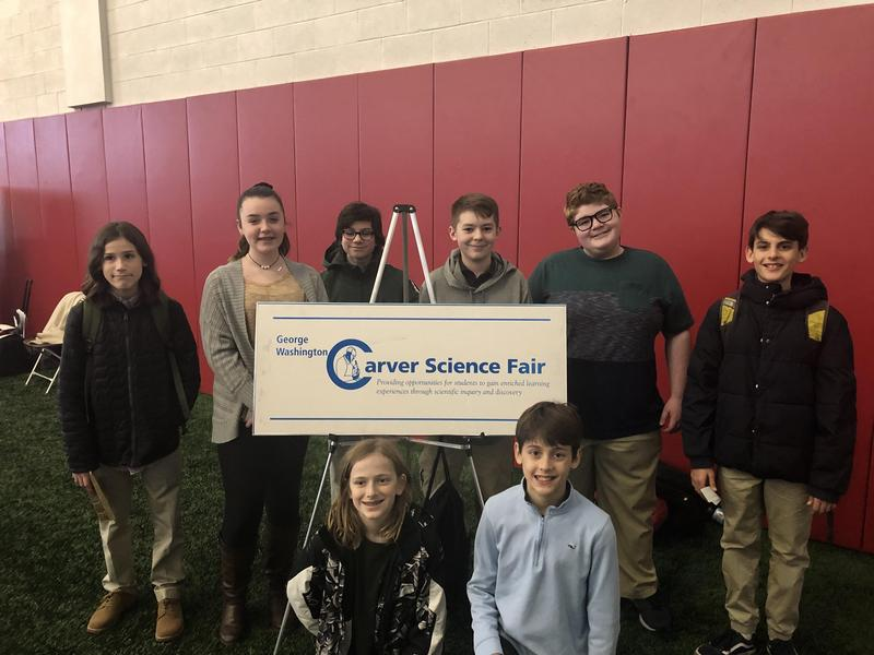 GWCS Competes at The Carver Science Fair Featured Photo