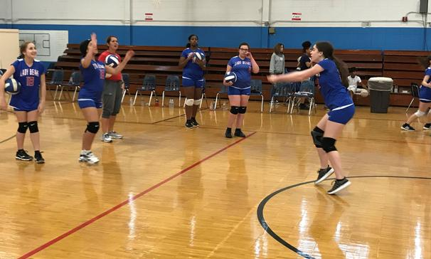 Lady Bears Volleyball