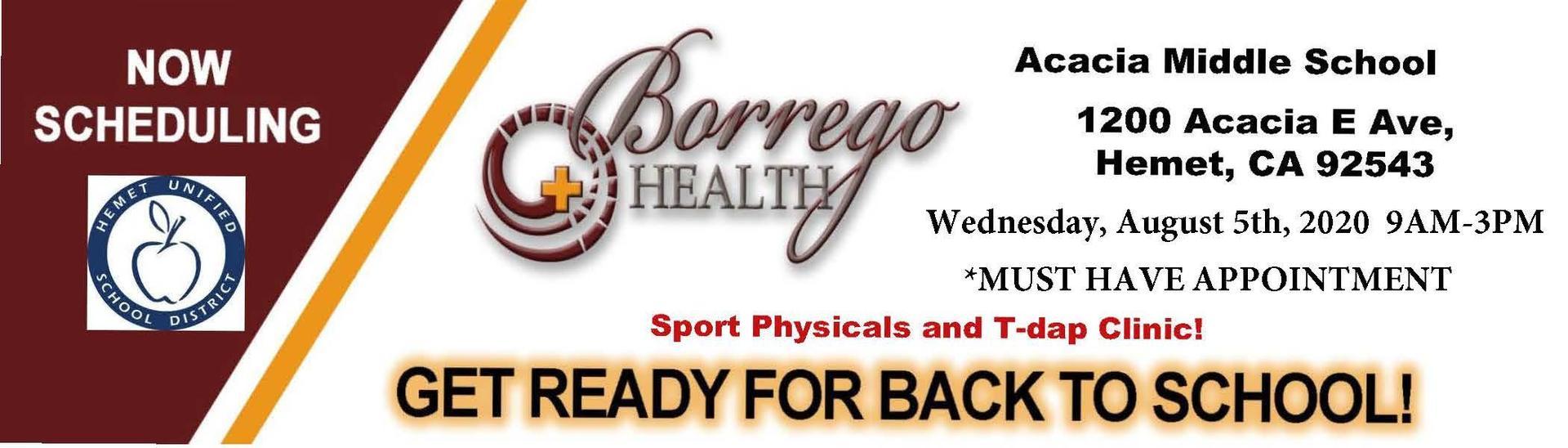 Borrego Clinic