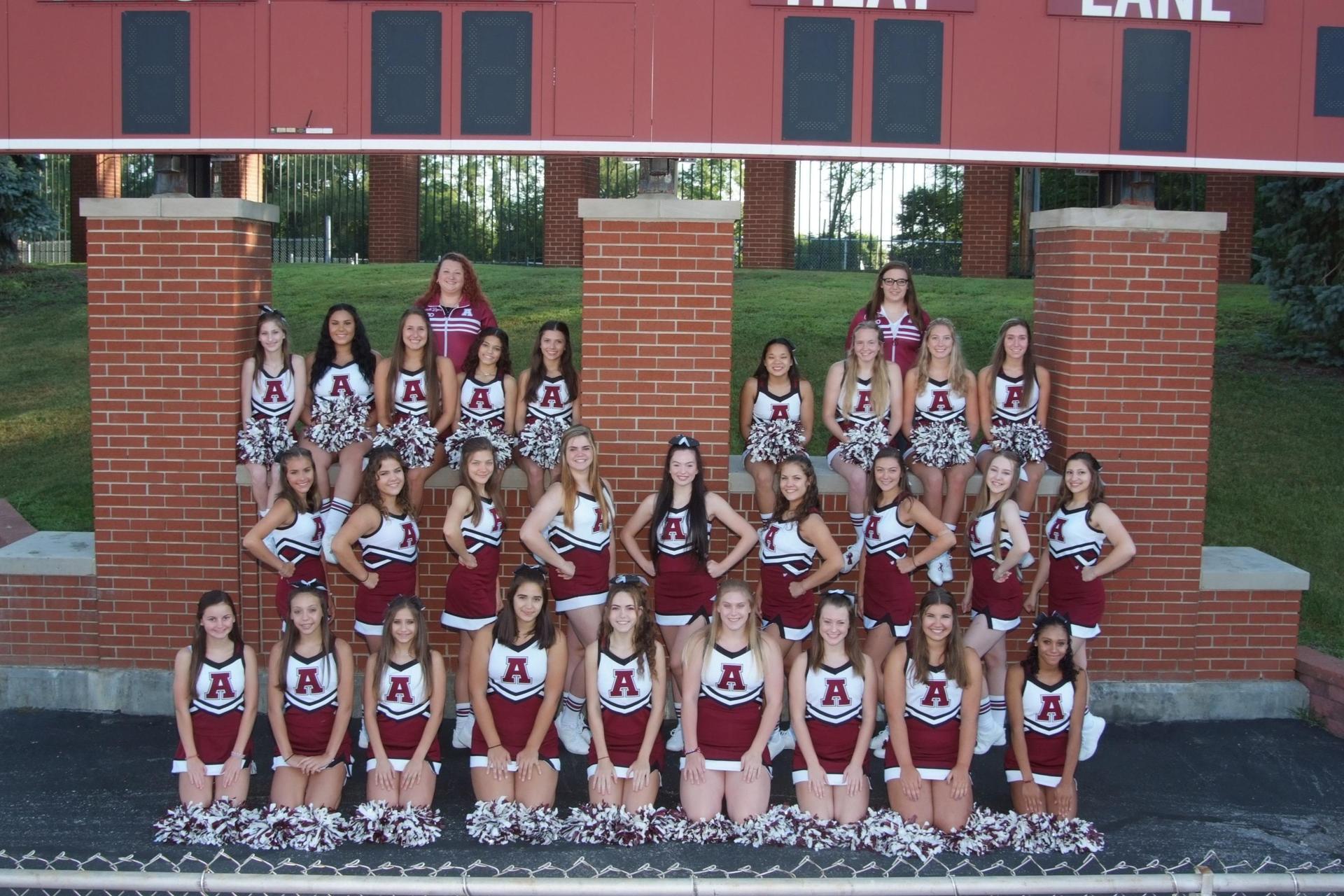 2019 AAHS Cheerleaders