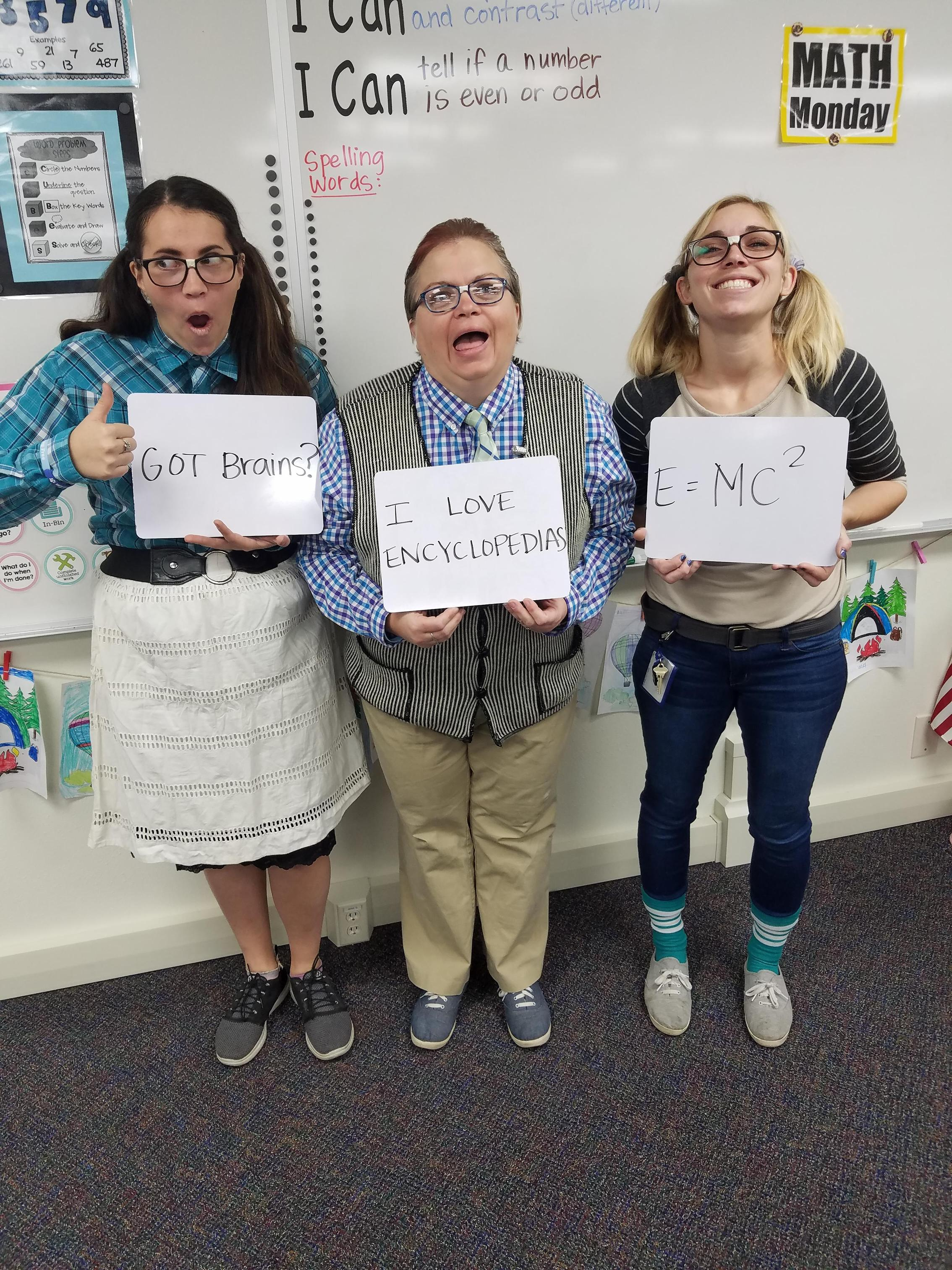 Teachers are Nerds