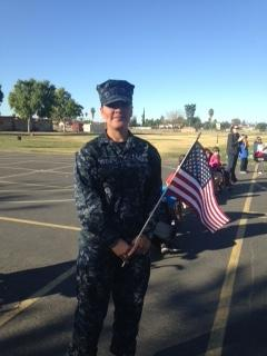 Hemet High School ROTC Came to Honor our Veterans
