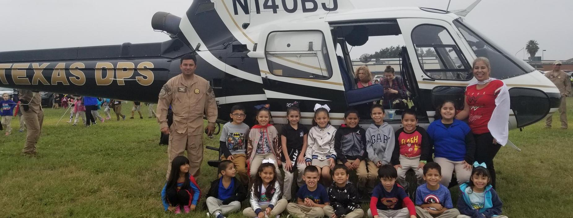 Red Ribbon Week-helicopter