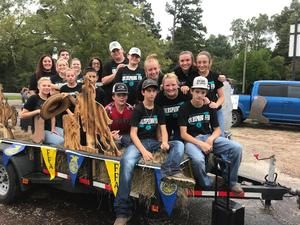 Coldspring FFA Float for the 2018 SJC Fair & Rodeo