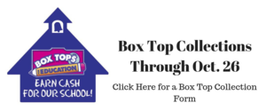 Box Tops for Education. Earn Cash for our school!