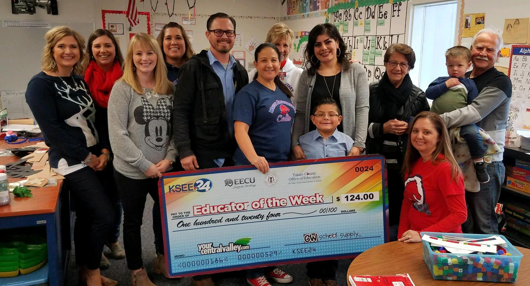 KSEE 24 Educator of the Week