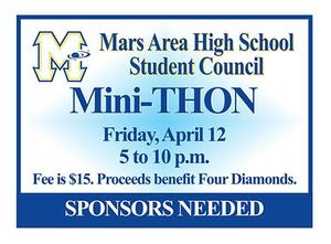Mars Area High School Student Council Mini-Thon