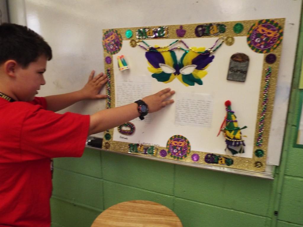 3rd grade Louisiana Festival Projects