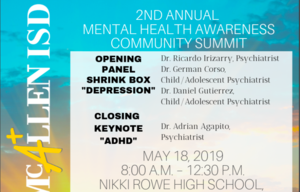 2nd Annual Mental Health Awareness Community Summit