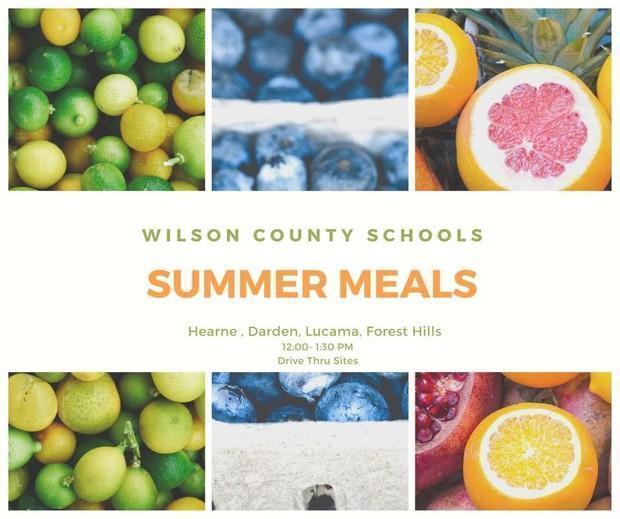 summer meals image