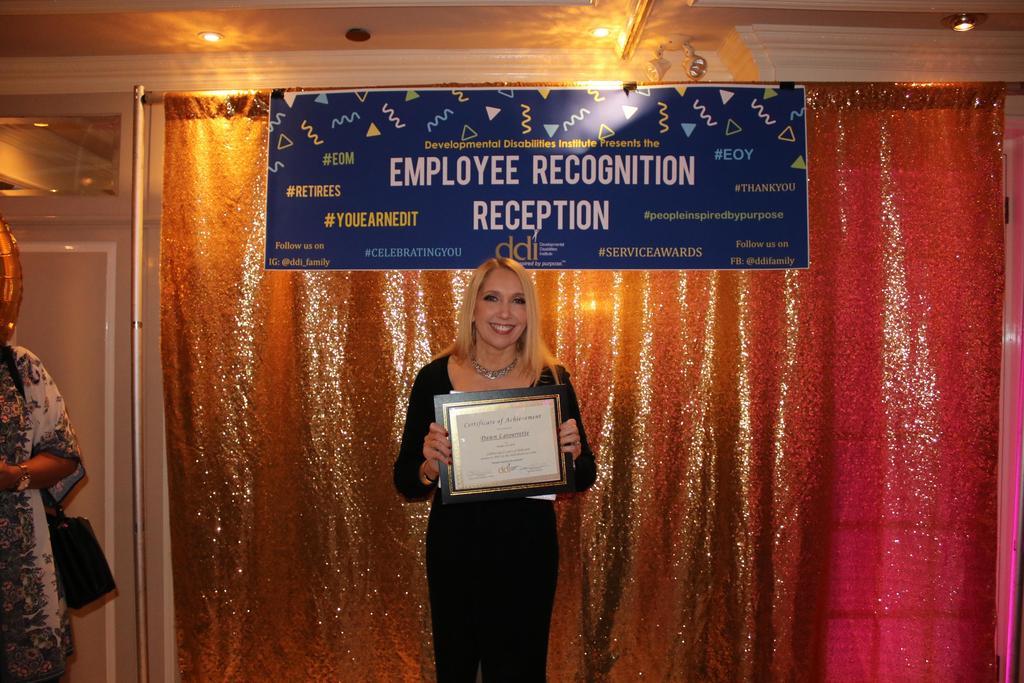 25-Year Service Award recipient