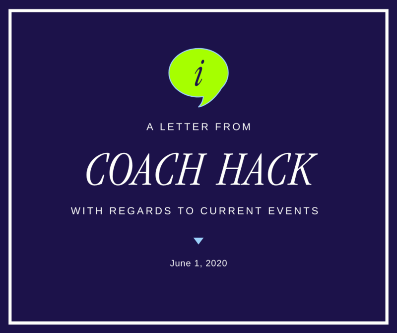 A Letter From Coach Hack to the Football Community Featured Photo