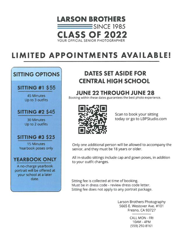 Flyer information