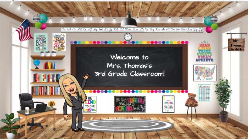 Mrs. Thomas's 3rd Grade