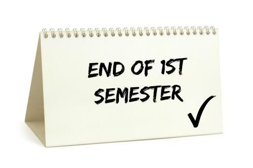 End of semester graphic