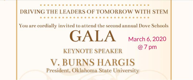 Dove Schools Gala, March 6 @ 7 pm Featured Photo
