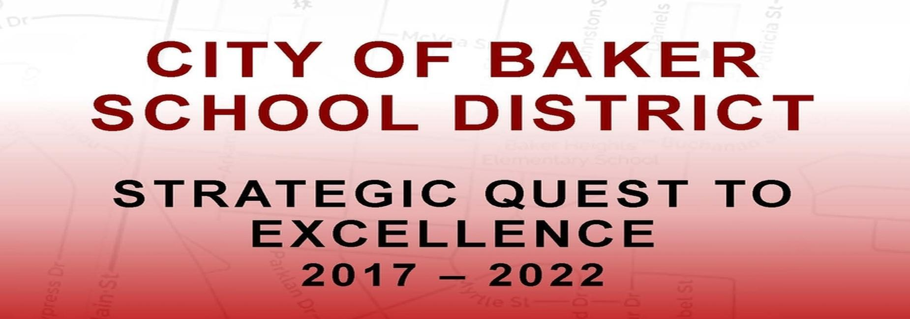 Banner in presention of the Strategic Plan for 2017-2022
