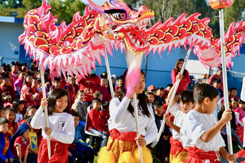 Walnut Elementary DLI Students Celebrate Lunar New Year Featured Photo