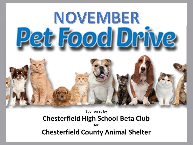 Pet Food Drive Featured Photo