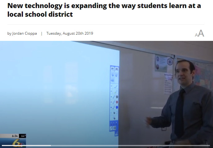 New Technology Is Expanding The Way Students Learn At Richland School District Featured Photo