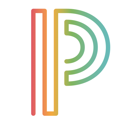 Logo for powerschool program showing the letter p