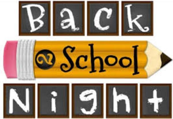 Back to School Night logo
