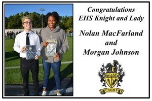 EHS knight and lady