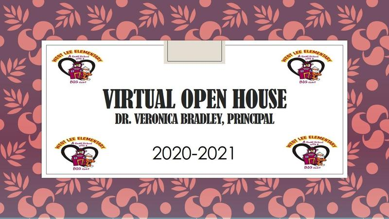 West Lee Elementary Virtual Open House