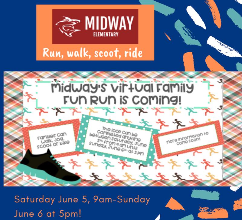 Save the Date Fun Run June 5