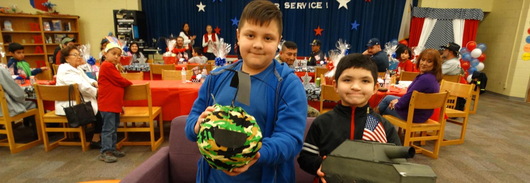 Veterans Day project winners