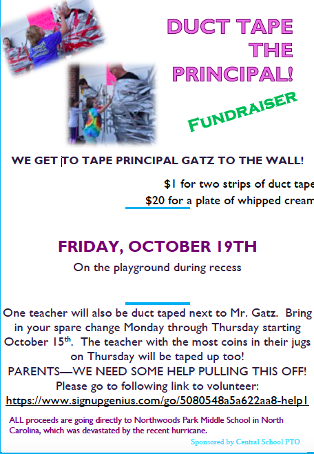 Duct Tape the Principal Fundraiser Featured Photo