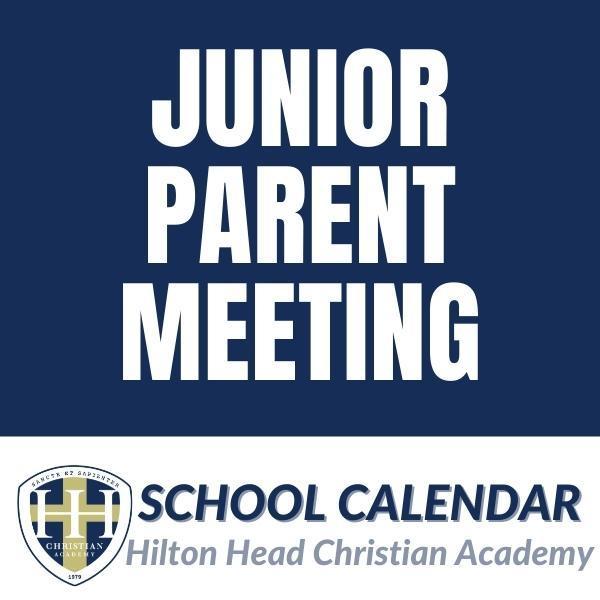 Junior Parent Meeting Featured Photo