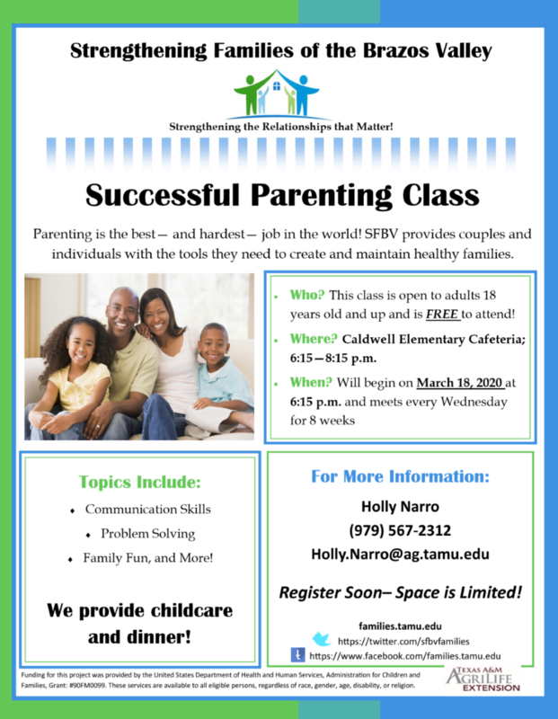 Successful Parenting Class Featured Photo