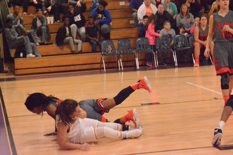 Girls Action Basketball 2