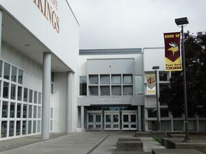 Front entrance to FGHS