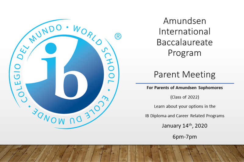 IB Program Sophomore Parent Informational Meeting Featured Photo