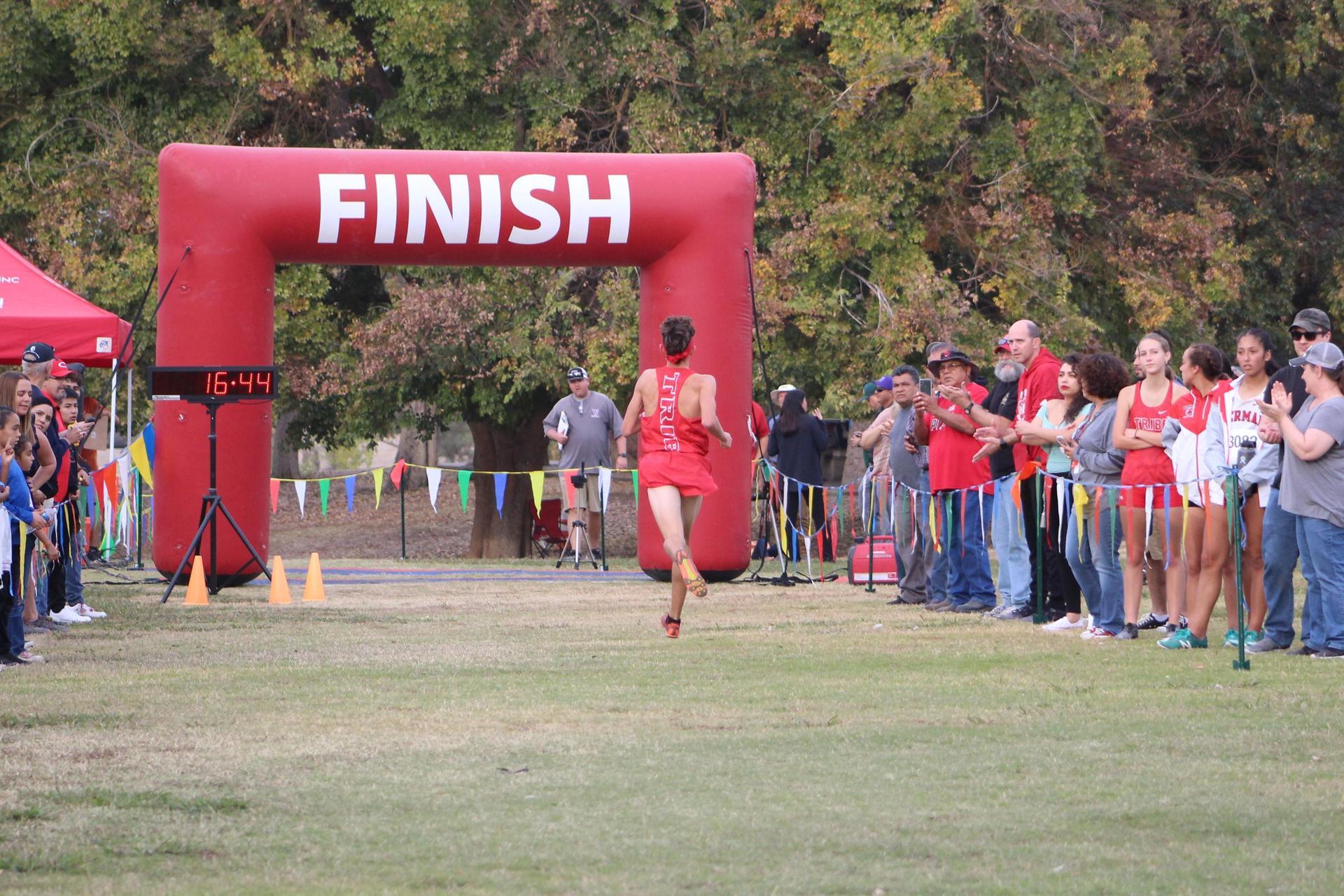 Connor Borba running