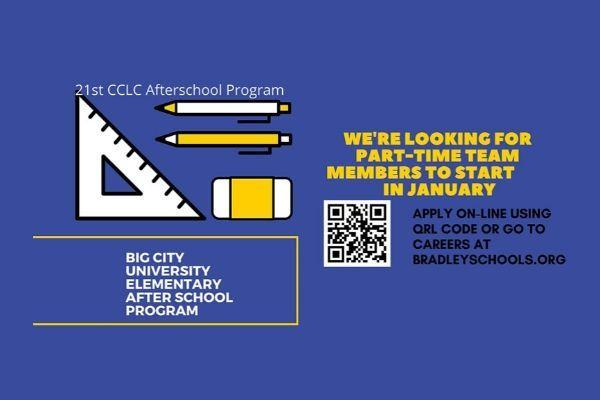 21st CCLC Afterschool Program Jobs