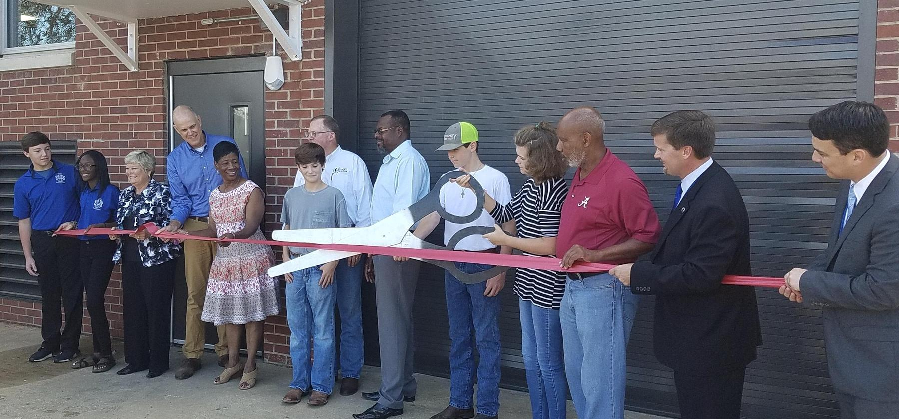 Lab 212 Ribbon Cutting