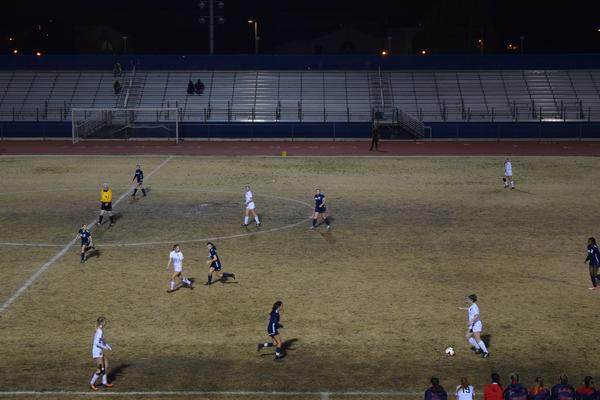 Varsity Girls Soccer vs BHS