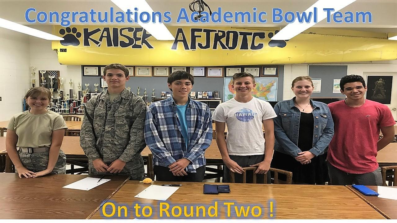 AFJROTC Academic Bowl Team