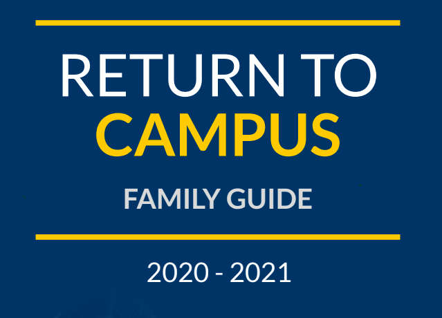 Return to Campus Family Guide Thumbnail Image