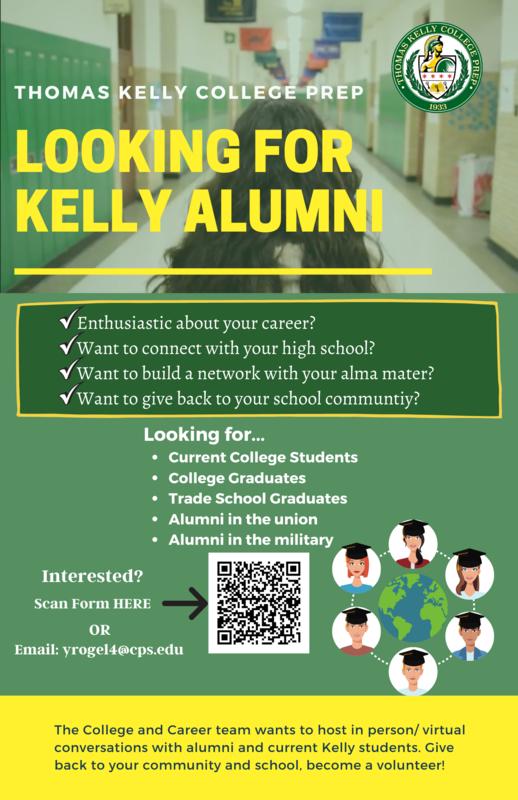 Kelly Alumni Interested in Volunteering! Featured Photo