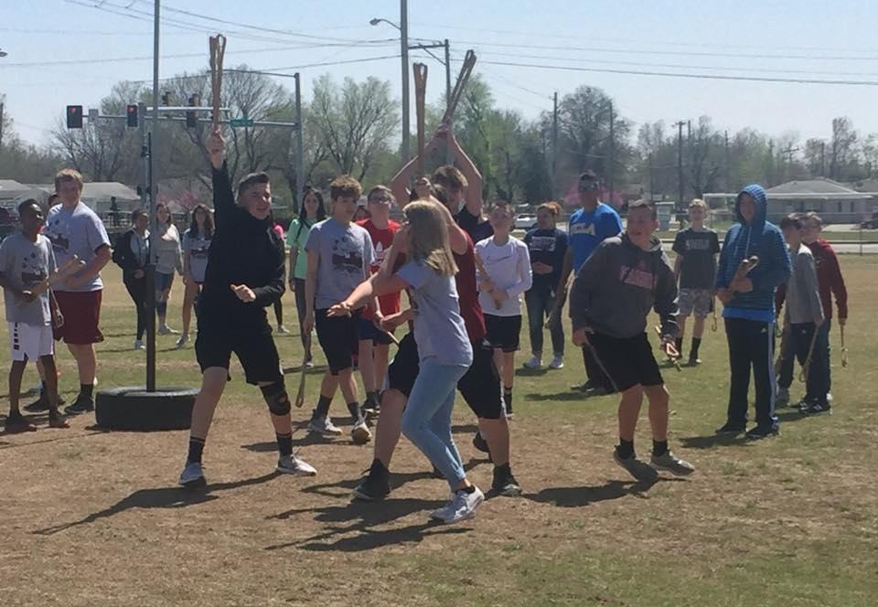 Native Games:  Stickball!