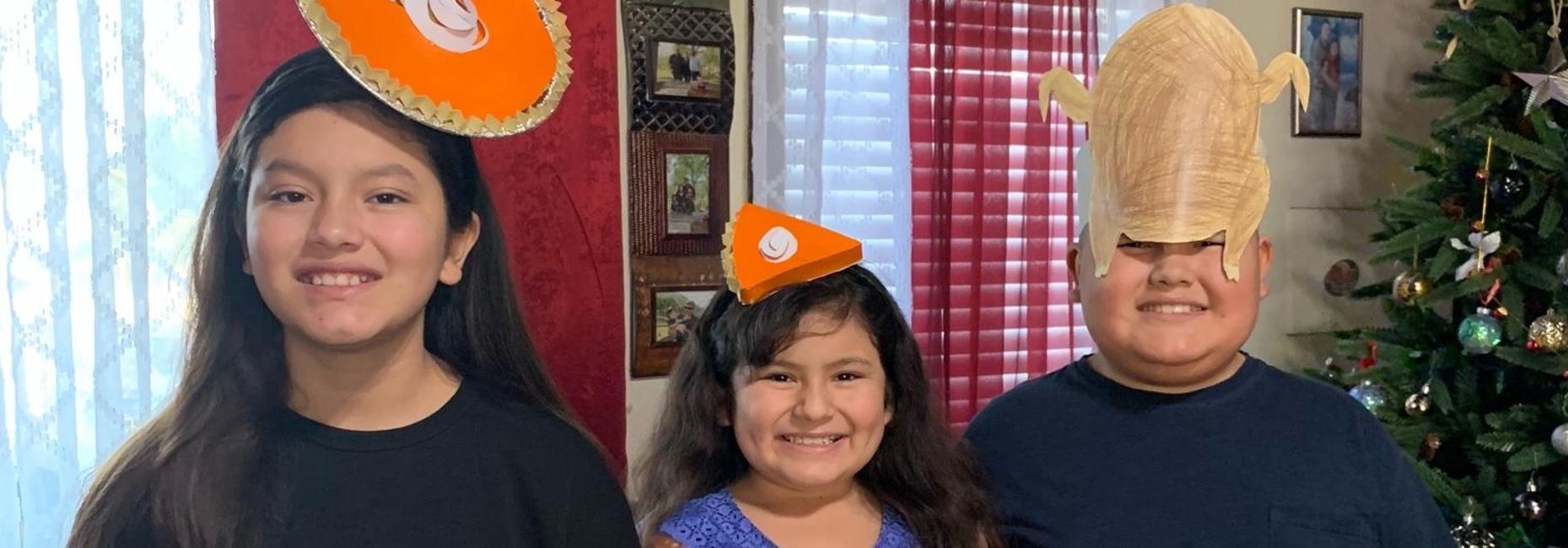 Creative Thanksgiving Hats