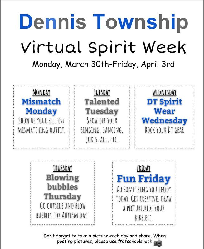 Virtual Spirit Week Thumbnail Image