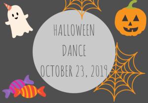 Halloween Dance October 23, 2019
