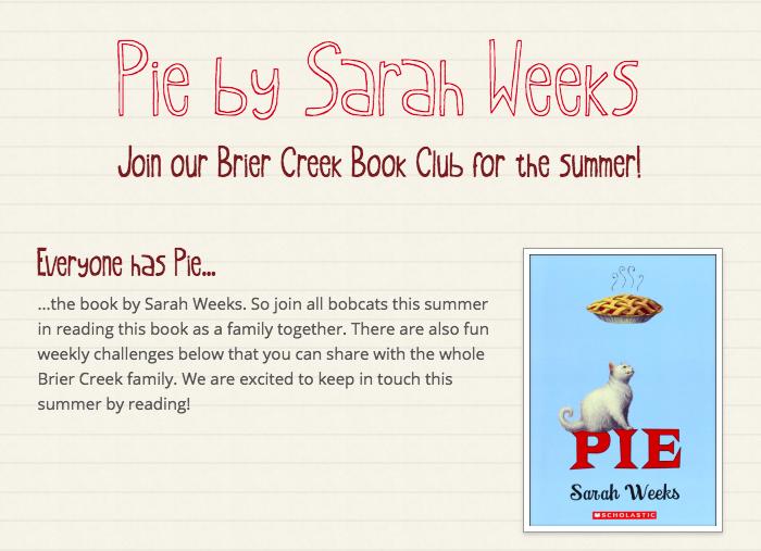 Pie Book Club