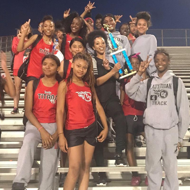 TJMS Track are District Champs Featured Photo